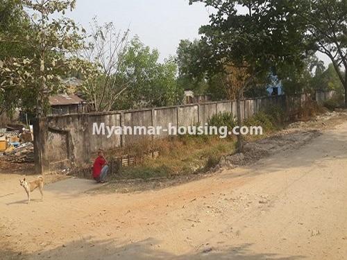 မြန်မာအိမ်ခြံမြေ -ခြံမြေနှင့် စက်ရုံဆက်စပ် ပိုင်ဆိုင်မှုများ property - No.2506 - မြောက်ဒဂုံစက်မှုဇုံတွင် မြေငှါးရန်ရှိသည်။ - road view