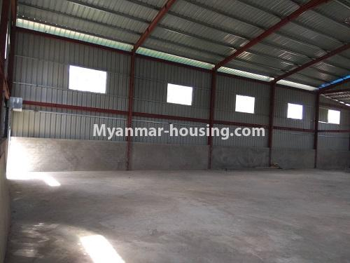 Myanmar real estate - land property - No.2516 - Wearhouse for rent in Hlaing Thar Yar Industrial Zone. - inside view