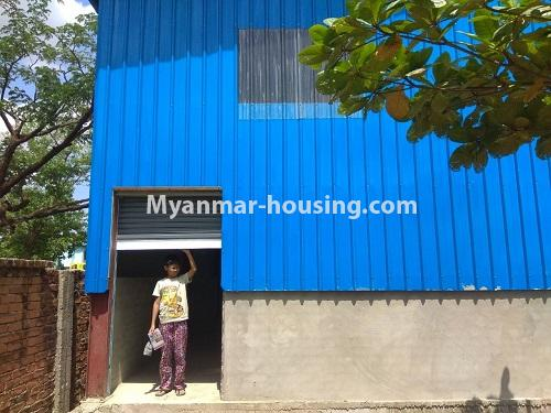 Myanmar real estate - land property - No.2516 - Wearhouse for rent in Hlaing Thar Yar Industrial Zone. - outside view