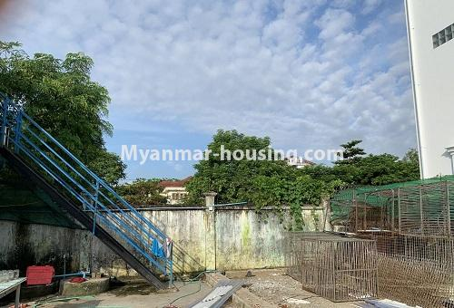Myanmar real estate - land property - No.2539 - Land for rent in North Dagon! - land view