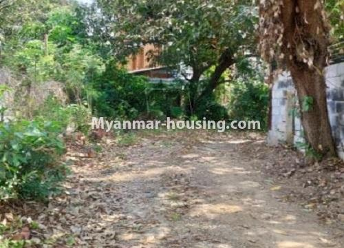 Myanmar real estate - land property - No.2542 - Land for sale in Golden Valley, Bahan Township! - land view