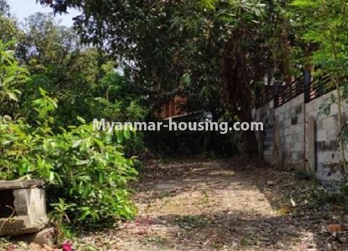 Myanmar real estate - land property - No.2542 - Land for sale in Golden Valley, Bahan Township! - another view of land