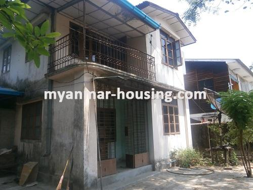 မြန်မာအိမ်ခြံမြေ - ငှားရန် property - No.1622 - N/AView of the building