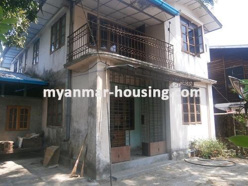မြန်မာအိမ်ခြံမြေ - ငှားရန် property - No.1622 - N/AView of the house.