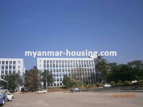 မြန်မာအိမ်ခြံမြေ - ငှားရန် property - No.1742 - MICT Park ထဲတွင် ရုံးခန်းငှားရန်ရှိသည်။View of the infront.