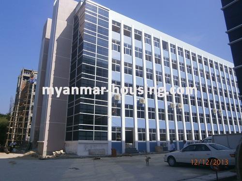 မြန်မာအိမ်ခြံမြေ - ငှားရန် property - No.1742 - MICT Park ထဲတွင် ရုံးခန်းငှားရန်ရှိသည်။View of the building.