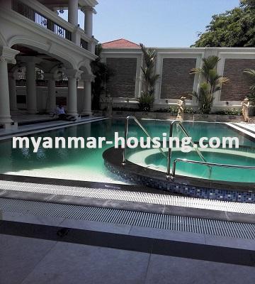 မြန်မာအိမ်ခြံမြေ - ငှားရန် property - No.2175 - အလွန်ကြီးကျယ်ခမ်းနားသောလုံးချင်းတစ်လုံးဗဟန်းမြို့နယ်တွင်ငှားရန်ရှိသည်။