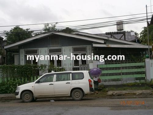 မြန်မာအိမ်ခြံမြေ - ငှားရန် property - No.2341 - N/AView of the building.