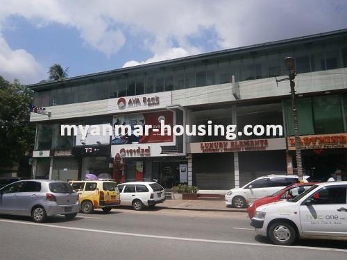 မြန်မာအိမ်ခြံမြေ - ငှားရန် property - No.2533 - N/AView of the outside.
