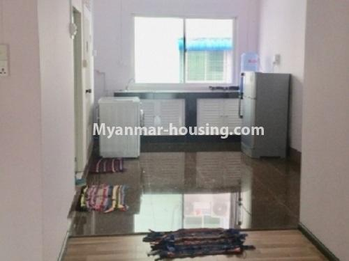 Myanmar real estate - for rent property - No.2635 - Good news for those who want to live near Dagon Centre II, Myaynigone, Sanchaung! - View of the kitchen.
