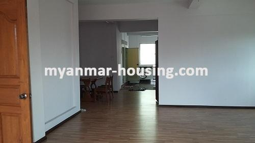 Myanmar real estate - for rent property - No.2635 - Good news for those who want to live near Dagon Centre II, Myaynigone, Sanchaung! - view of the bedroom