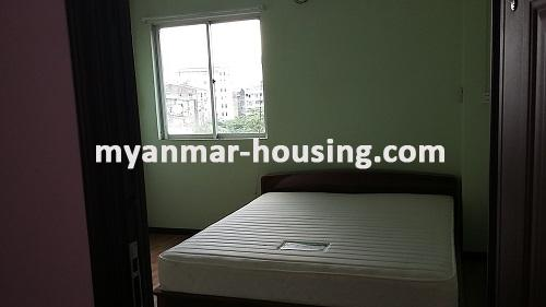 Myanmar real estate - for rent property - No.2635 - Good news for those who want to live near Dagon Centre II, Myaynigone, Sanchaung! - view of the another bedroom