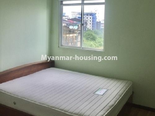 Myanmar real estate - for rent property - No.2635 - Good news for those who want to live near Dagon Centre II, Myaynigone, Sanchaung! - View of the bed room.