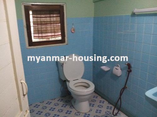 Myanmar real estate - for rent property - No.3001 - Landed House with Reasonable Price located in Mayangone Township! - bath room