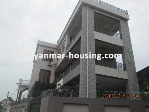မြန်မာအိမ်ခြံမြေ - ငှားရန် property - No.3021 - သာကေတမြို့နယ်တွင် လုံးချင်းကောင်းကောင်းတစ်လုံး ငှားရန်ရှိသည်။