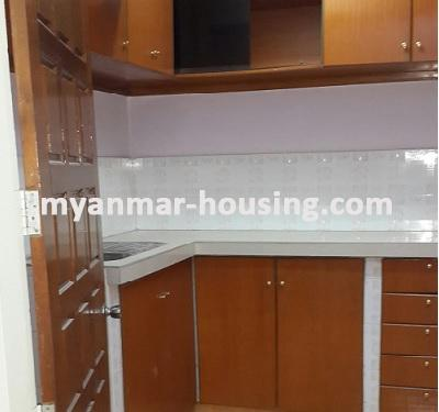 Myanmar real estate - for rent property - No.3079 - One of the available rooms for rent in Shwegondaing Tower! -
