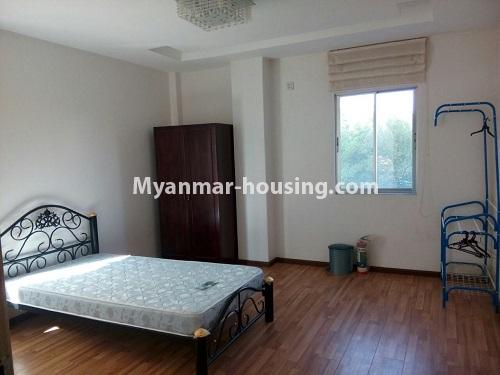 Myanmar real estate - for rent property - No.3109 - Available good condominium for rent near Chatrium Hotel. - View of the dining room and kitchen room