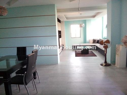 Myanmar real estate - for rent property - No.3109 - Available good condominium for rent near Chatrium Hotel. -