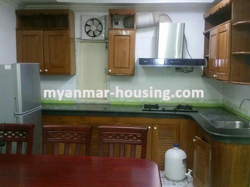 မြန်မာအိမ်ခြံမြေ - ငှားရန် property - No.3135 - အဆင့်မြင့်ပြင်ဆင်ပြီးဈေးနှုန်းသက်သာသည့် ကွန်ဒိုတစ်ခန်းDown Town အနီးတွင်ငှားရန်ရှိသည်။