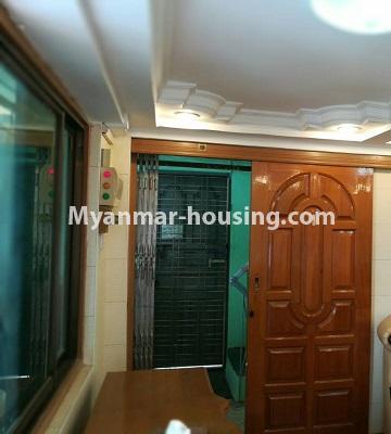 မြန်မာအိမ်ခြံမြေ - ငှားရန် property - No.3429 - ဗဟန်းတွင် ပရိဘောဂပါသော တိုက်ခန်းငှားရန်ရှိသည်။another view of living room