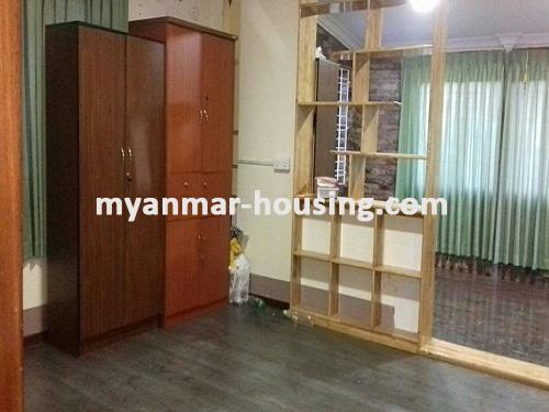 Myanmar real estate - for rent property - No.3491 - Two Storey landed House for rent in Insein Township. - View of the Living room
