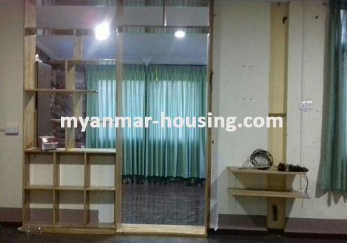Myanmar real estate - for rent property - No.3491 - Two Storey landed House for rent in Insein Township. - View of the Bed room