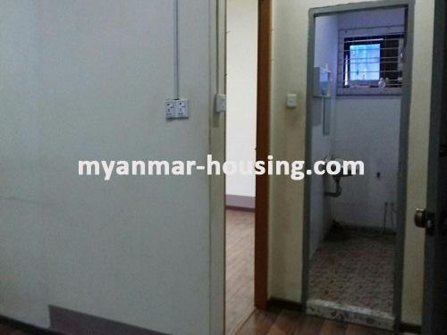 Myanmar real estate - for rent property - No.3491 - Two Storey landed House for rent in Insein Township. - View of Toilet and Bathroom