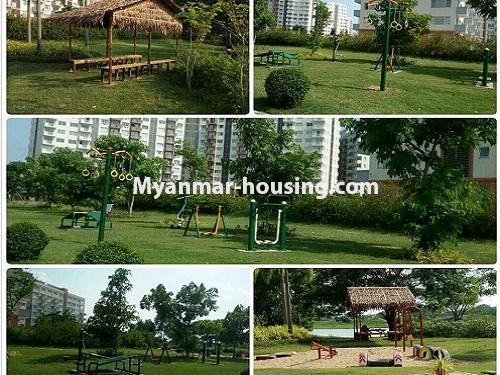 Myanmar real estate - for rent property - No.3506 - Luxurious Condominium room with full standard decoration and furniture for rent in Star City, Thanlyin! - outside view