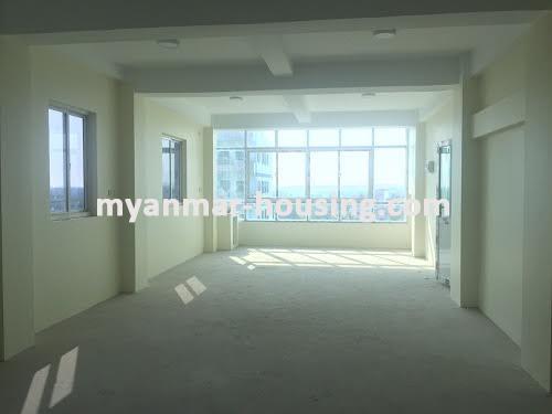မြန်မာအိမ်ခြံမြေ - ငှားရန် property - No.3518 - သာကေတတွင် လုပ်ငန်းလုပ်ရန်အတွက် မြေညီထပ်ငှါးရန်ရှိသည်။Attice view