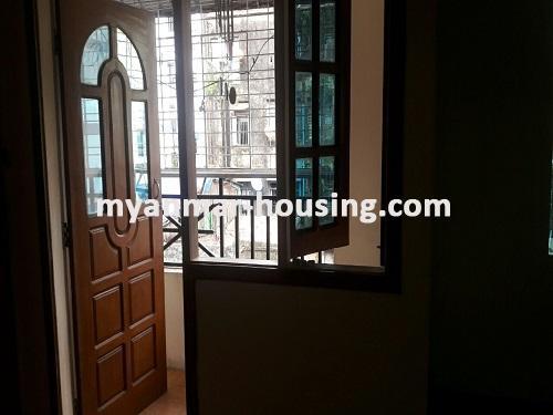 မြန်မာအိမ်ခြံမြေ - ငှားရန် property - No.3697 - ဗိုလ်တစ်ထောင်တွင် တိုက်ခန်းငှါးရန်ရှိသည်။balcony