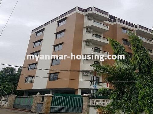 မြန်မာအိမ်ခြံမြေ - ငှားရန် property - No.3731 - မရမ်းကုန်းတွင် လုပ်ငန်းလုပ်ရန်အလွန်ကောင်းမွန််သော လုံးချင်းငှားရန်ရှိသည်။building view