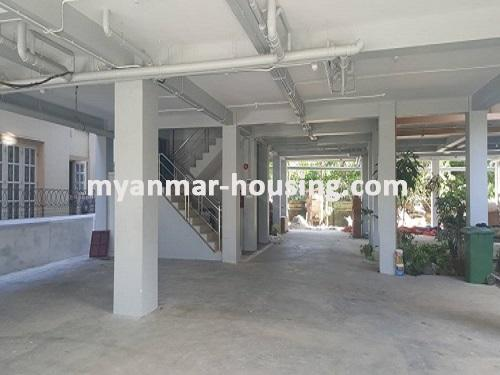 မြန်မာအိမ်ခြံမြေ - ငှားရန် property - No.3731 - မရမ်းကုန်းတွင် လုပ်ငန်းလုပ်ရန်အလွန်ကောင်းမွန််သော လုံးချင်းငှားရန်ရှိသည်။ground floor view