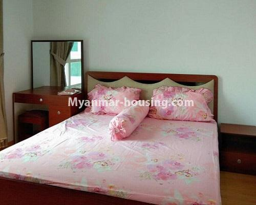 Myanmar real estate - for rent property - No.3920 - Decorated condo room for rent in G.E.M.S Hlaing! - bedroom 3 view