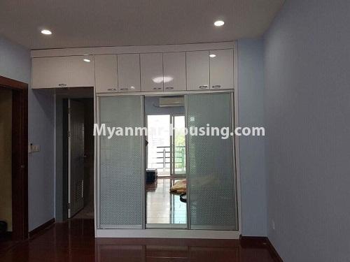 မြန်မာအိမ်ခြံမြေ - ငှားရန် property - No.3998 - စွယ်တော် City တွင် ကွန်ဒိုခန်းကောင်းတစ်ခန်းဌားရန် ရှိသည်။View of the Bed room