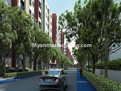 မြန်မာအိမ်ခြံမြေ - ငှားရန် property - No.3998 - စွယ်တော် City တွင် ကွန်ဒိုခန်းကောင်းတစ်ခန်းဌားရန် ရှိသည်။View of the building