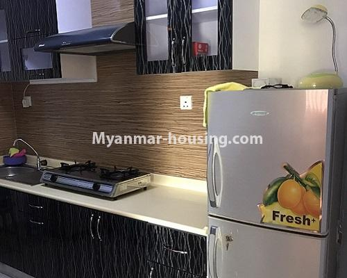 Myanmar real estate - for rent property - No.4013 - Star City Condo room for rent in Thanlyin! - kitchen