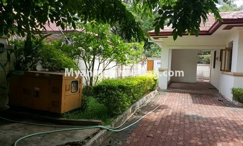 Myanmar real estate - for rent property - No.4014 - Landed house for rent in Lawkanat Housing Haling! - another house view