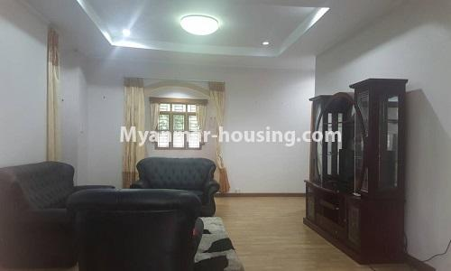 Myanmar real estate - for rent property - No.4014 - Landed house for rent in Lawkanat Housing Haling! - another living room view