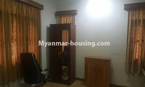 Myanmar real estate - for rent property - No.4014 - Landed house for rent in Lawkanat Housing Haling! - master bedroom view