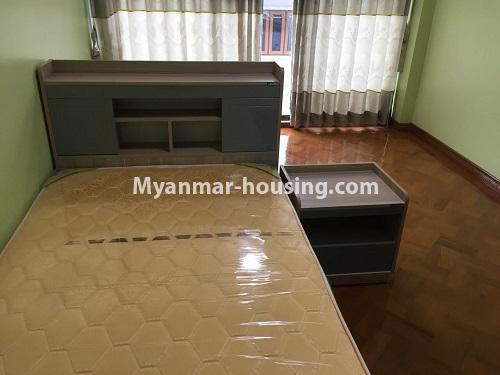 Myanmar real estate - for rent property - No.4028 - Decorated room for rent in Yankin! - single bedroom