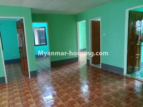 Myanmar real estate - for rent property - No.4034 - Apartment for rent in Bahan! - living room