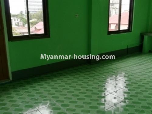 Myanmar real estate - for rent property - No.4034 - Apartment for rent in Bahan! - kitchen area