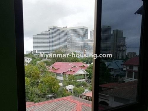 Myanmar real estate - for rent property - No.4034 - Apartment for rent in Bahan! - outside view