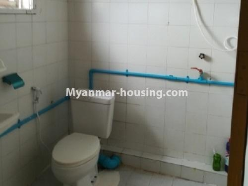 Myanmar real estate - for rent property - No.4034 - Apartment for rent in Bahan! - toilet