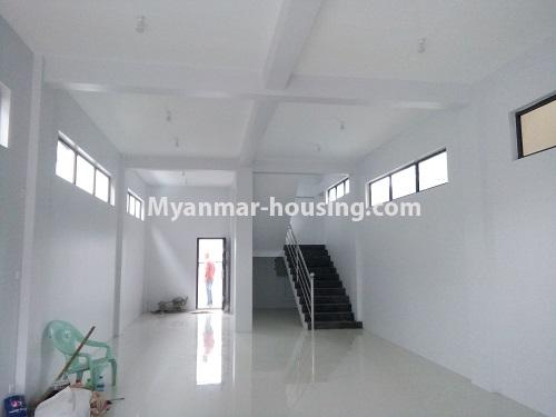 Myanmar real estate - for rent property - No.4068 - A Good Landed house for rent in Insein Township. - downstairs hall