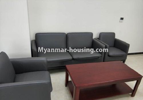 မြန်မာအိမ်ခြံမြေ - ငှားရန် property - No.4085 - Crystal Office Tower တွင် ရုံးခန်းငှားရန်ရှိသည်။sitting room