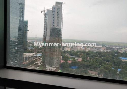 မြန်မာအိမ်ခြံမြေ - ငှားရန် property - No.4085 - Crystal Office Tower တွင် ရုံးခန်းငှားရန်ရှိသည်။outside view