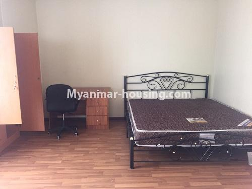 ミャンマー不動産 - 賃貸物件 - No.4100 - A Good Condominium room for rent in Mingalar Taung Nyunt. - master bedroom 1