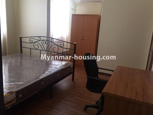ミャンマー不動産 - 賃貸物件 - No.4100 - A Good Condominium room for rent in Mingalar Taung Nyunt. - master bedroom2