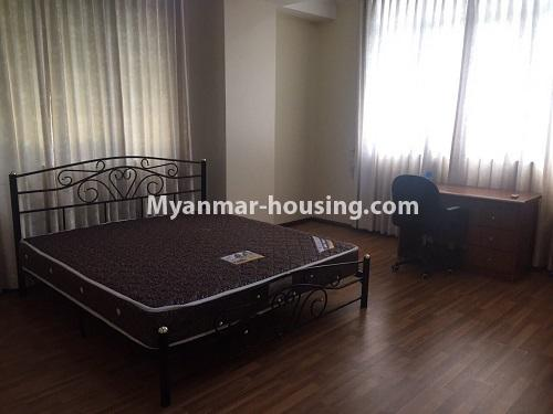 ミャンマー不動産 - 賃貸物件 - No.4100 - A Good Condominium room for rent in Mingalar Taung Nyunt. - master bedroom 3